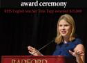 Jenna Bush Hager headlines regional teaching award ceremony