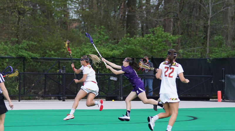 A lacrosse game