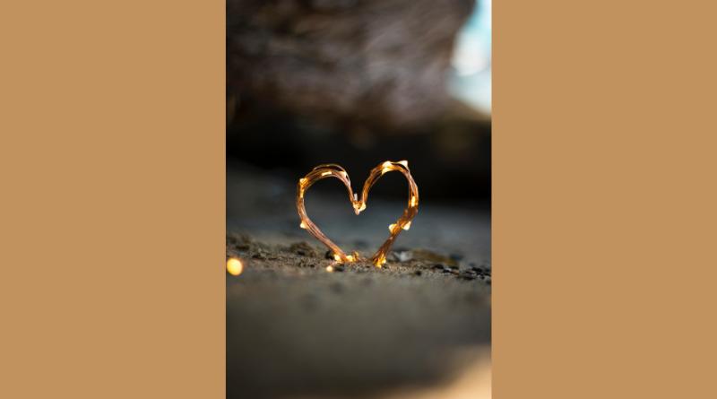 A heart light