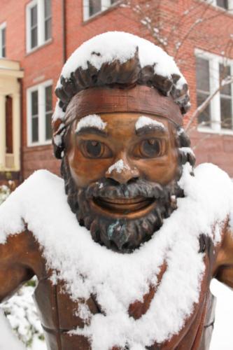 Snow-Covered Highlander