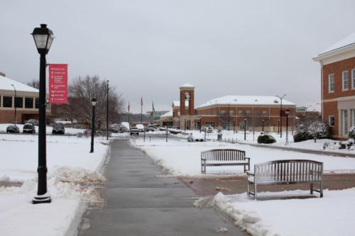 Snow around campus (2)