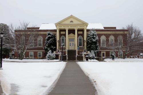 Snow around campus (4)