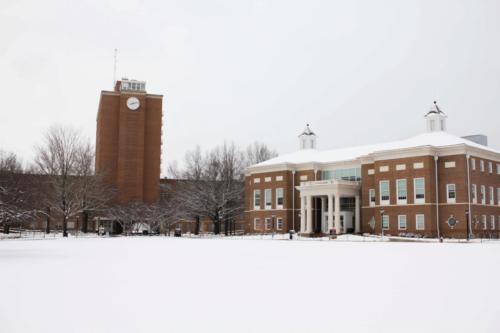 Snow around campus (5)